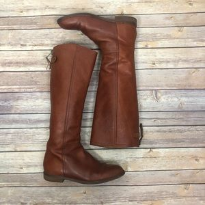 MADEWELL  Sydney Riding boot | Pecan